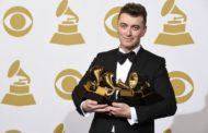 Sam Smith conquistó los Grammy.