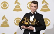 Sam Smith conquistó los Grammy.