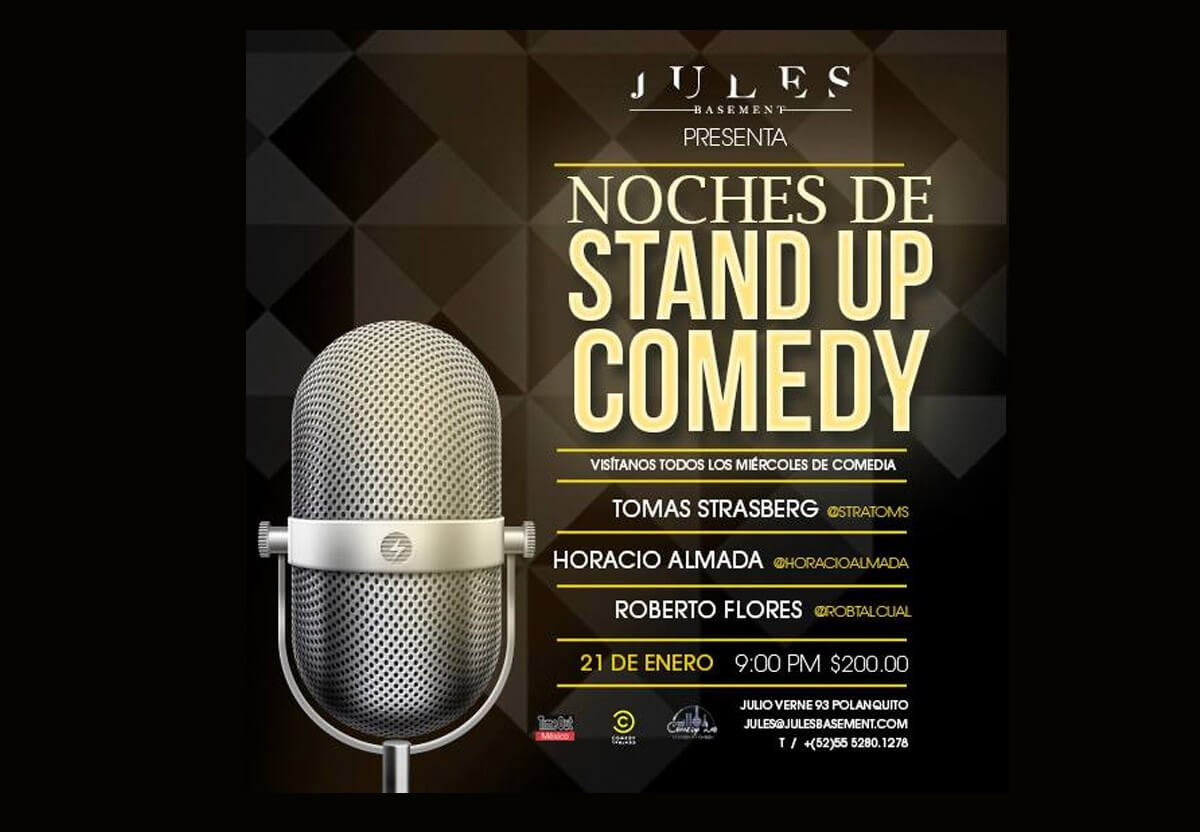 Stand Up Comedy en Jules Basement