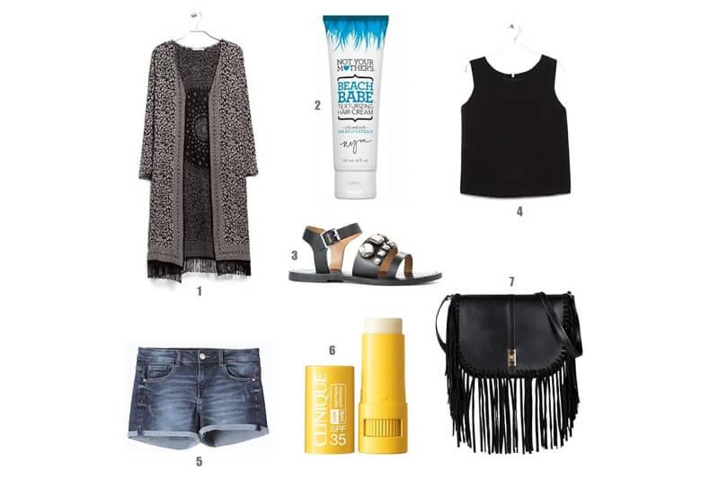 Un outfit para los días de calor