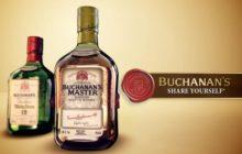 BUCHANAN'S NOS HACE PRIMERO VER ELEFANTES y después el arte de concebir un buen whisky.