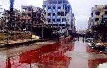 Los ríos de sangre que recorren Siria (Semana del 18 al 24 de julio de 2016)