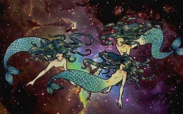 En su cuerpo de estrellas