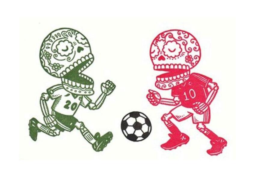 Fútbol mexicano -Calaveritas Literarias