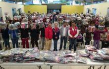 Distribuye PC apoyos invernales en 4 municipios de la región de Orizaba