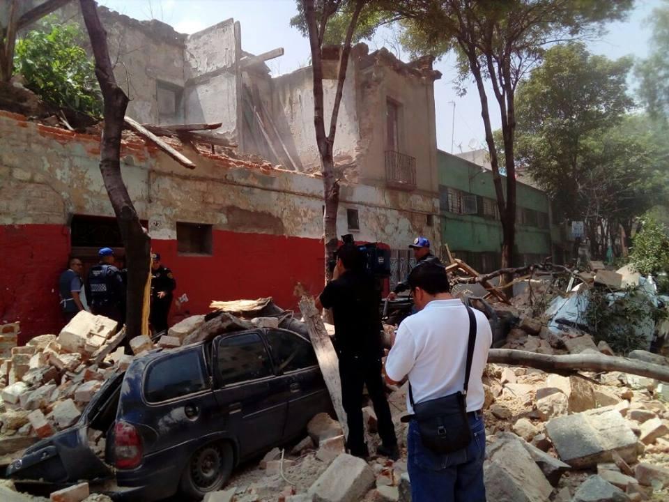 TERREMOTO EN MÉXICO: EL MISMO DÍA 32 AÑOS DESPUÉS DEL 85´
