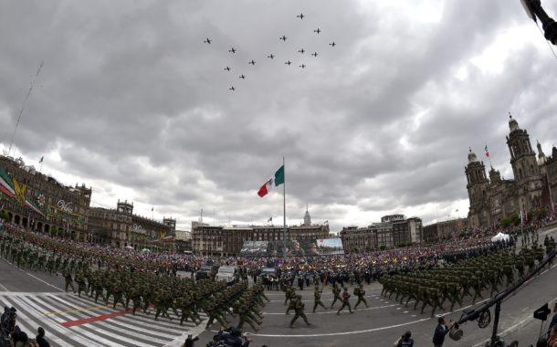 PORQUÉ EL DESFILE MILITAR DEL 16 DE SEPTIEMBRE EN MÉXICO?