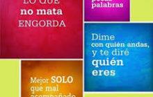 DICHOS Y REFRANES CUARTA PARTE